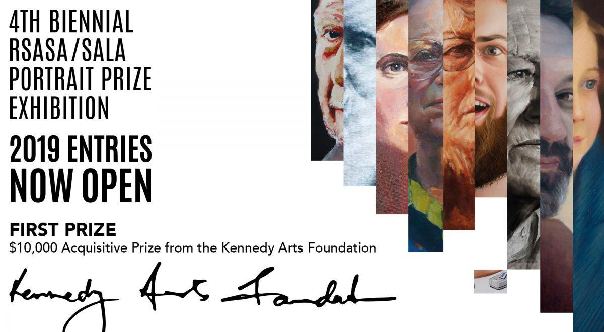 4th biennial rsasa sala portrait prize exhibition 2019 kennedy arts foundation