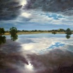 8am Montecolina Bore Strzeleki Track, Judy Summers - chosen by Glenn Davis, Oil on canvas, 2014 - SOLD
